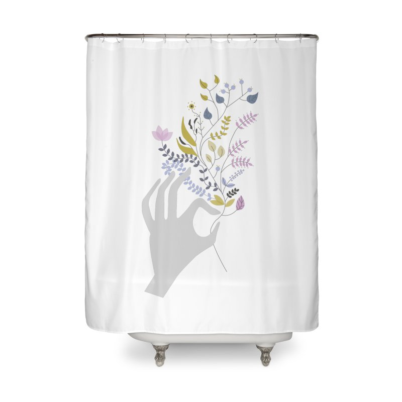 Spring Home Shower Curtain by ivvch's Artist Shop