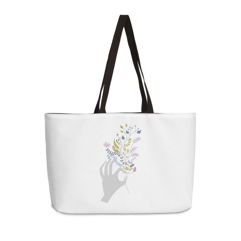 Spring Accessories Weekender Bag Bag by ivvch's Artist Shop