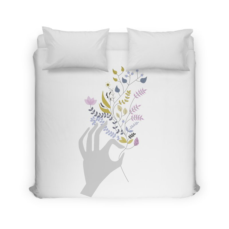 Spring Home Duvet by ivvch's Artist Shop