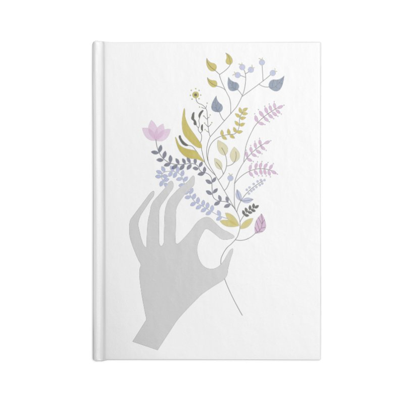 Spring Accessories Blank Journal Notebook by ivvch's Artist Shop