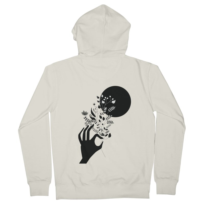 Moon Men's Zip-Up Hoody by ivvch's Artist Shop