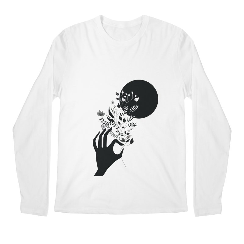 Moon Men's Regular Longsleeve T-Shirt by ivvch's Artist Shop
