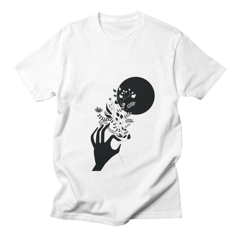 Moon Men's Regular T-Shirt by ivvch's Artist Shop