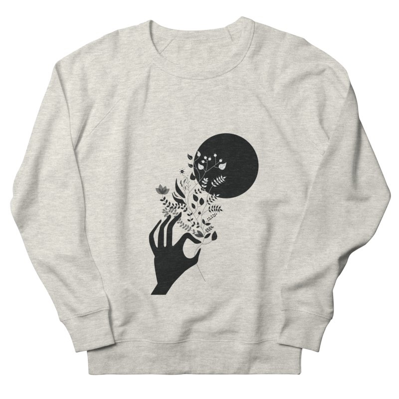 Moon Women's French Terry Sweatshirt by ivvch's Artist Shop