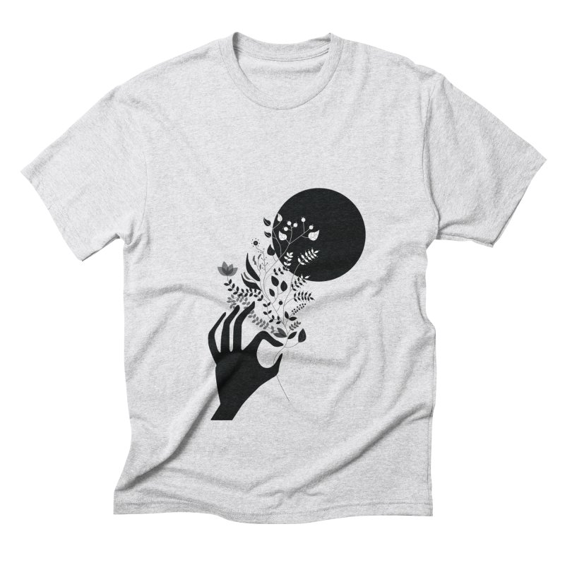 Moon Men's Triblend T-Shirt by ivvch's Artist Shop