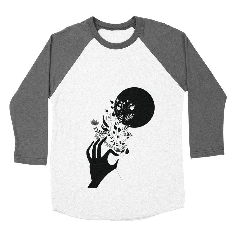 Moon Men's Baseball Triblend T-Shirt by ivvch's Artist Shop