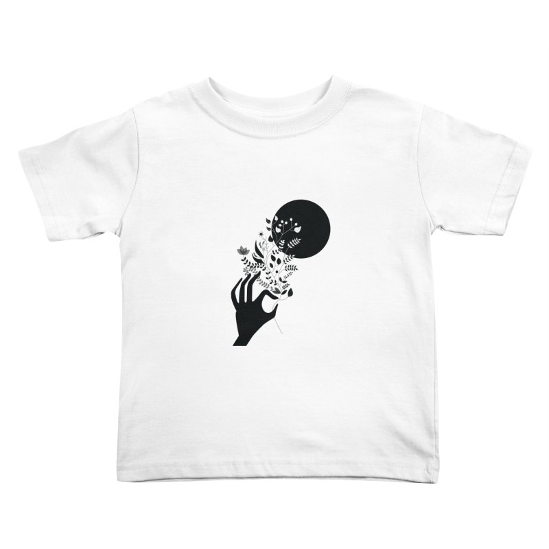 Moon Kids Toddler T-Shirt by ivvch's Artist Shop