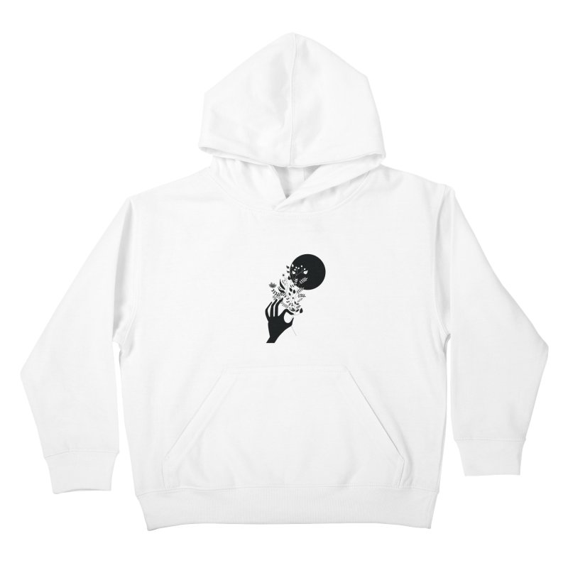 Moon Kids Pullover Hoody by ivvch's Artist Shop