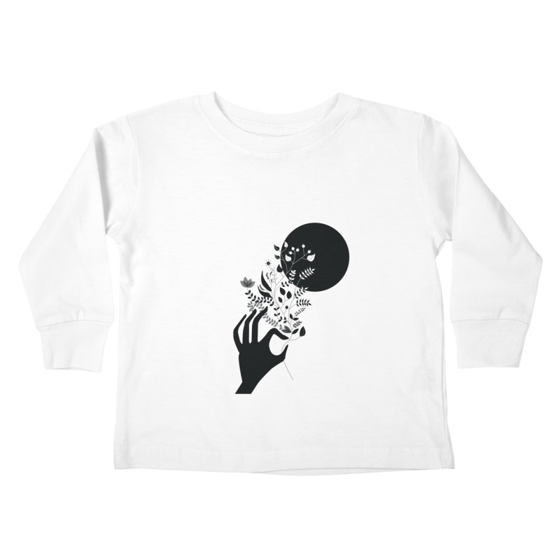 Moon Kids Toddler Longsleeve T-Shirt by ivvch's Artist Shop