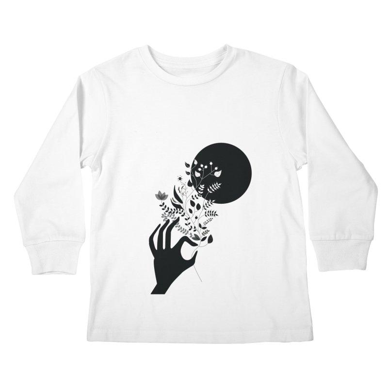 Moon Kids Longsleeve T-Shirt by ivvch's Artist Shop