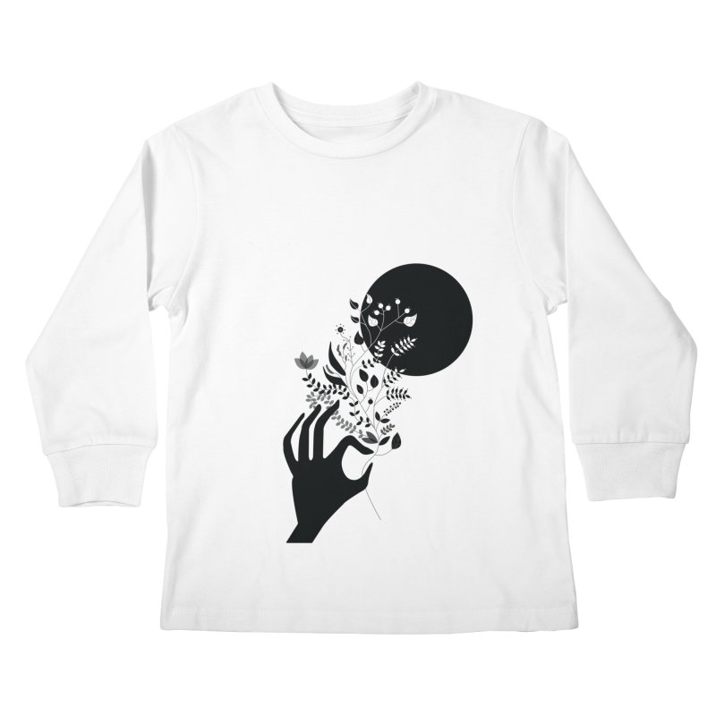 Moon Kids Longsleeve T-Shirt by ivvch's Artist Shop