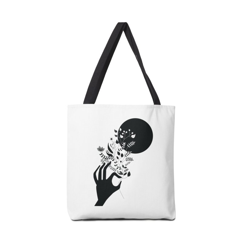 Moon Accessories Tote Bag Bag by ivvch's Artist Shop