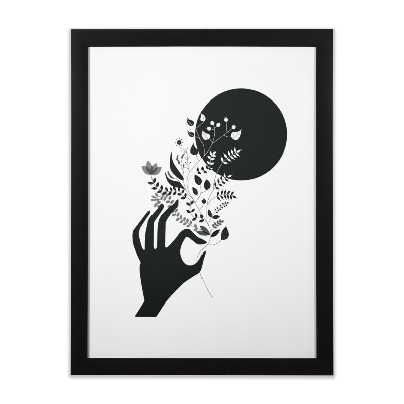 Moon Home Framed Fine Art Print by ivvch's Artist Shop