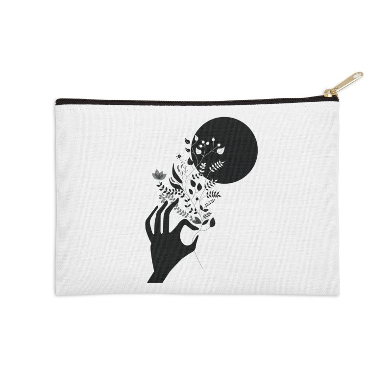 Moon Accessories Zip Pouch by ivvch's Artist Shop