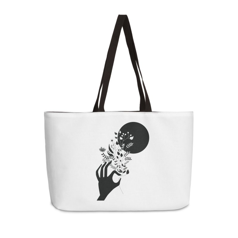 Moon Accessories Weekender Bag Bag by ivvch's Artist Shop