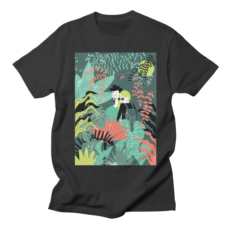 Jungle Men's Regular T-Shirt by ivvch's Artist Shop