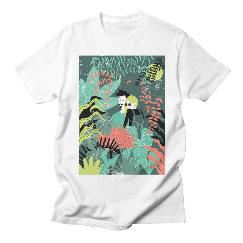 Jungle Men's Regular T-Shirt by ivvch's Artist Shop
