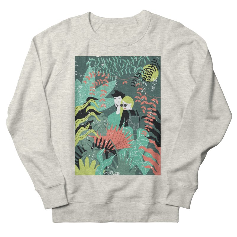 Jungle Women's French Terry Sweatshirt by ivvch's Artist Shop