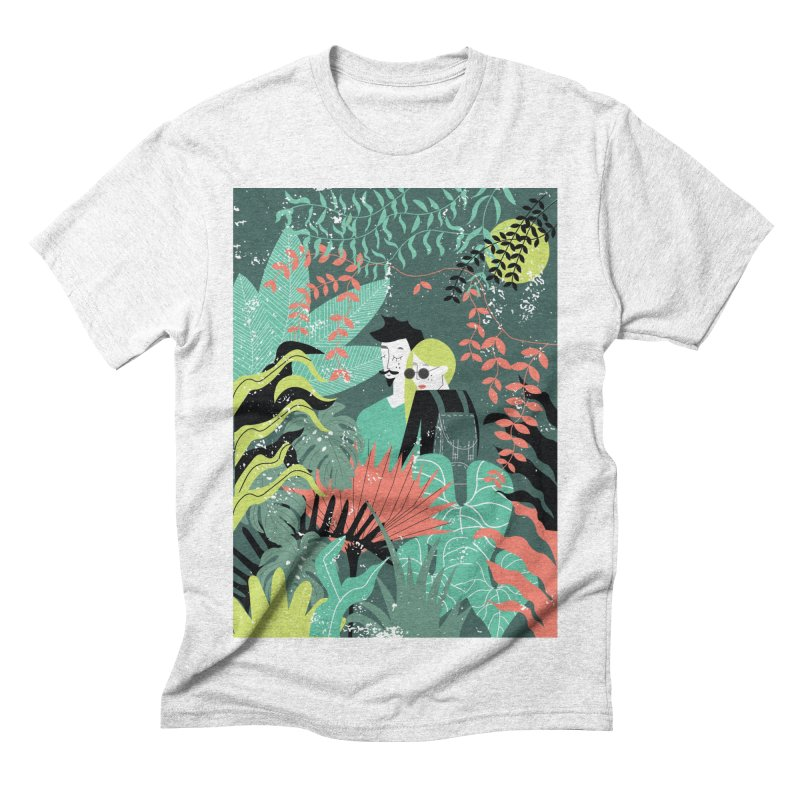 Jungle Men's Triblend T-shirt by ivvch's Artist Shop