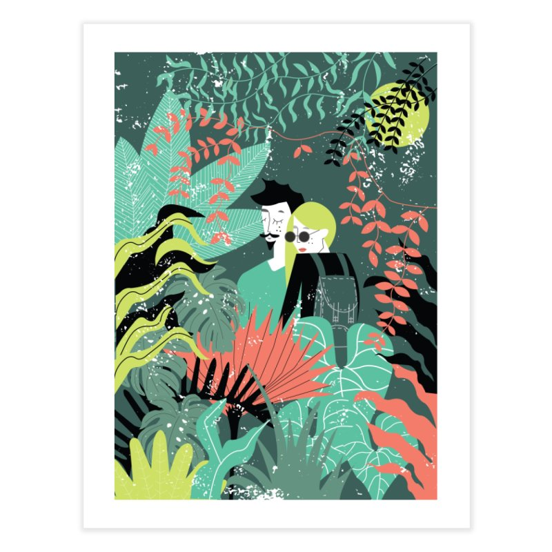 Jungle Home Fine Art Print by ivvch's Artist Shop