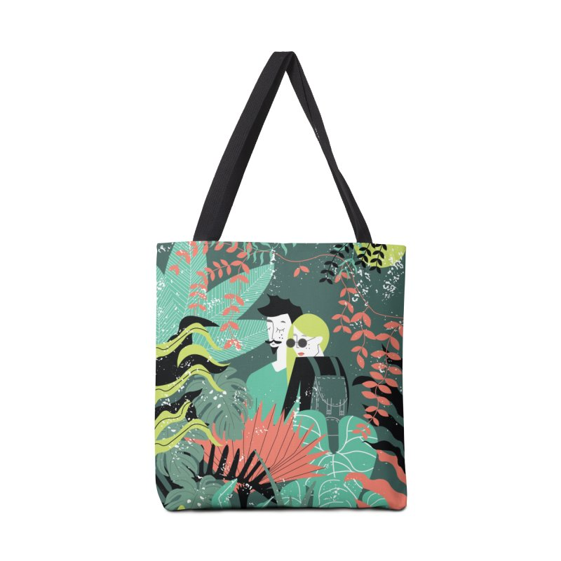 Jungle Accessories Tote Bag Bag by ivvch's Artist Shop