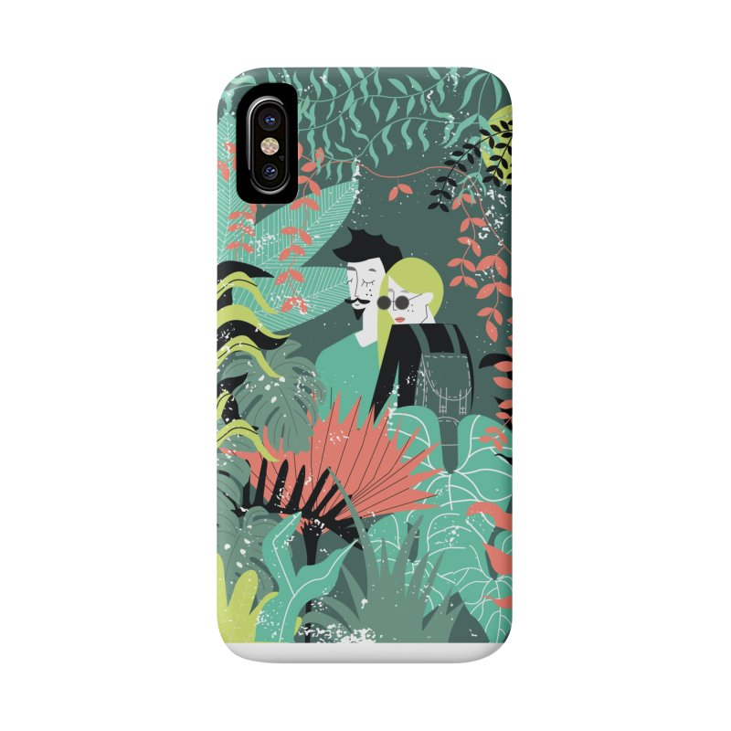 Jungle Accessories Phone Case by ivvch's Artist Shop