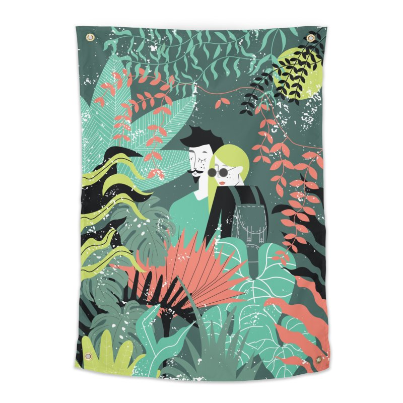 Jungle Home Tapestry by ivvch's Artist Shop