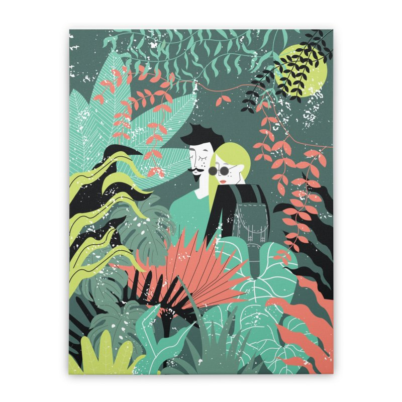 Jungle Home Stretched Canvas by ivvch's Artist Shop