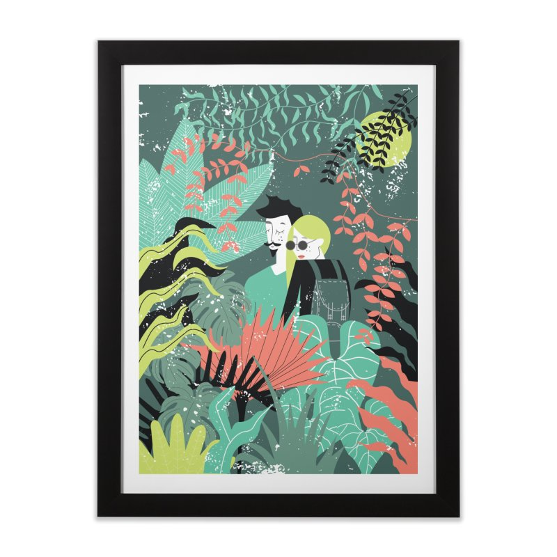 Jungle Home Framed Fine Art Print by ivvch's Artist Shop