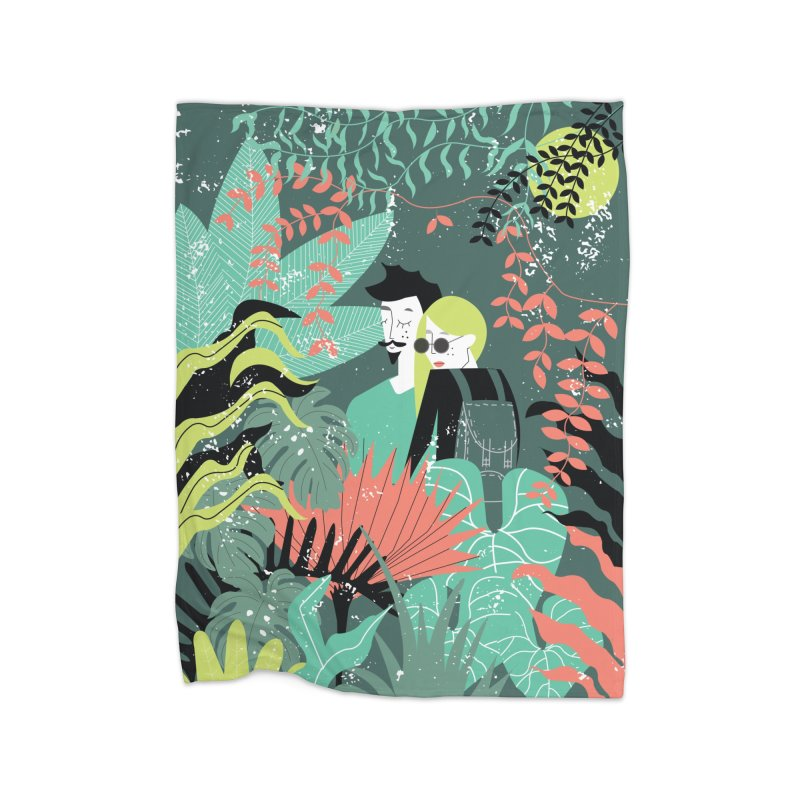 Jungle Home Blanket by ivvch's Artist Shop