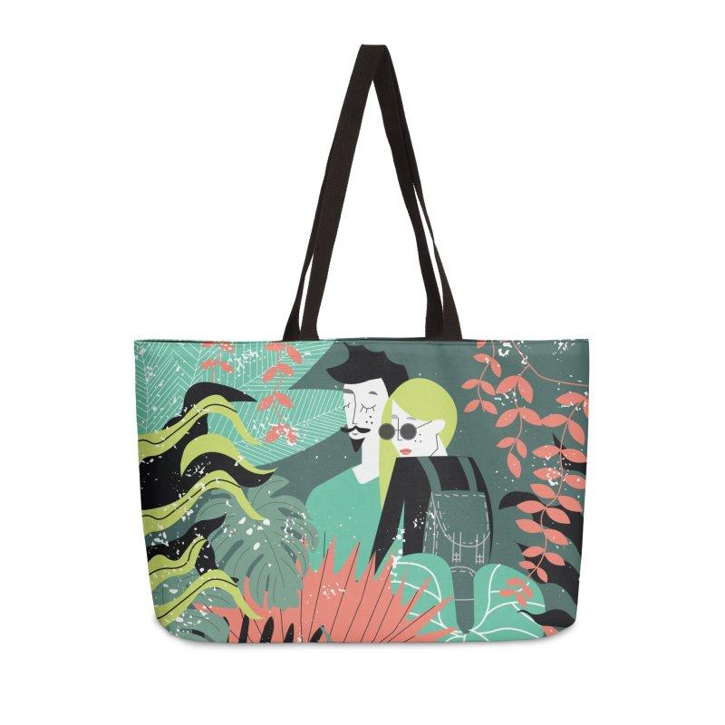 Jungle Accessories Weekender Bag Bag by ivvch's Artist Shop