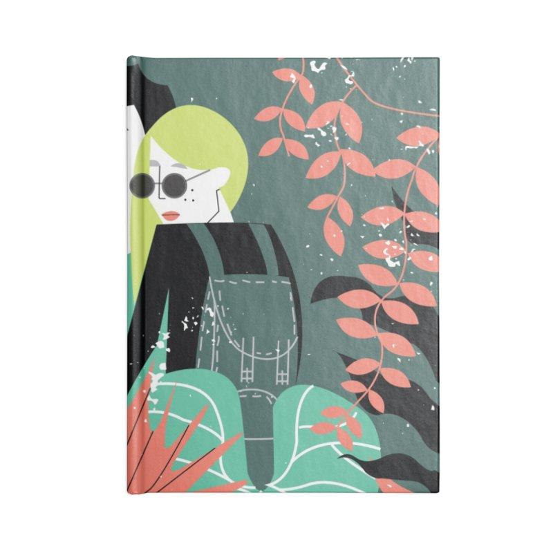 Jungle Accessories Blank Journal Notebook by ivvch's Artist Shop