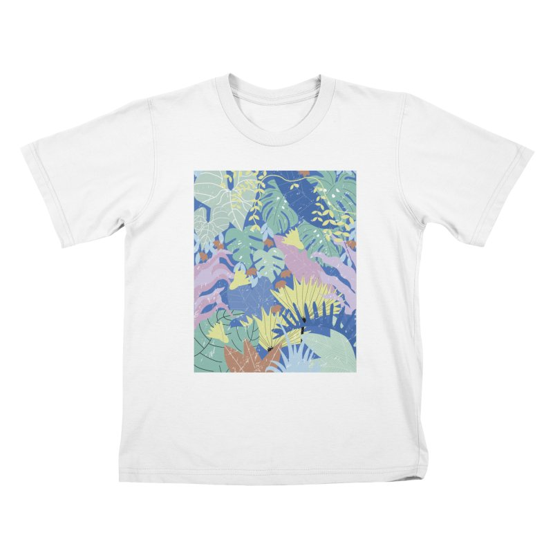 Jungle II Kids T-Shirt by ivvch's Artist Shop