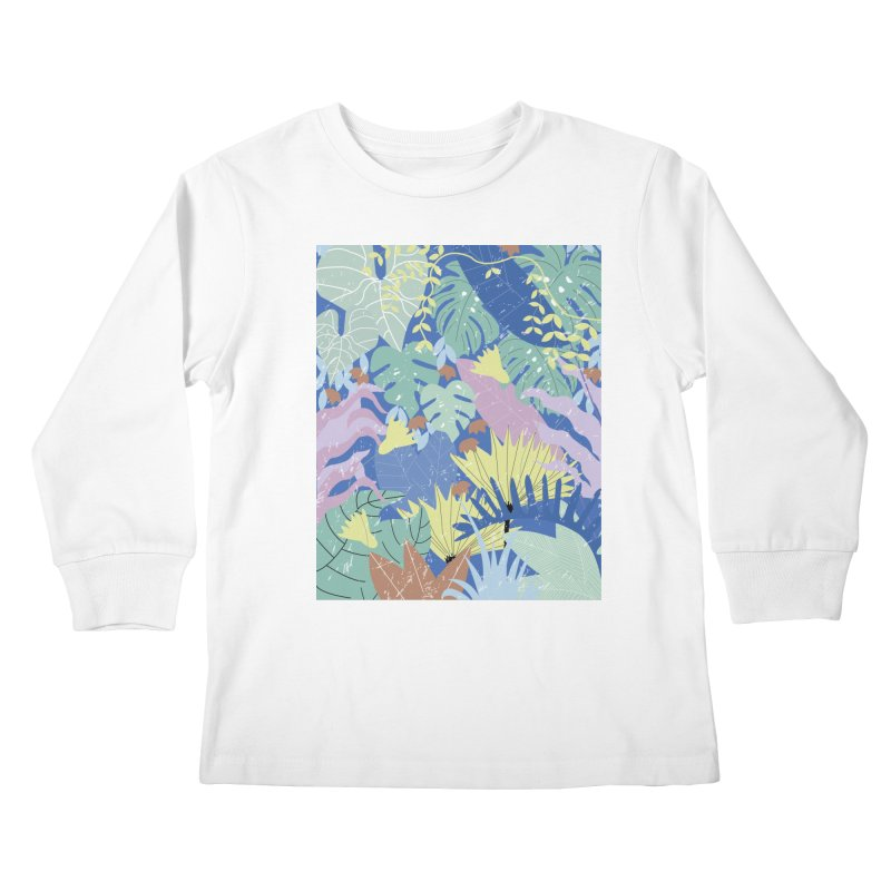 Jungle II Kids Longsleeve T-Shirt by ivvch's Artist Shop