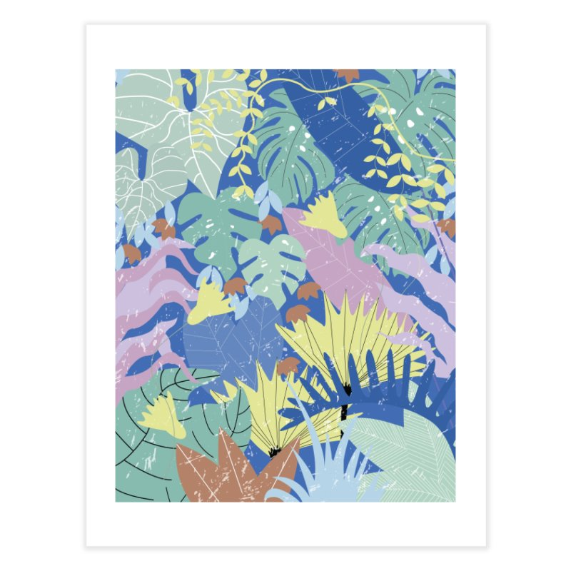 Jungle II Home Fine Art Print by ivvch's Artist Shop