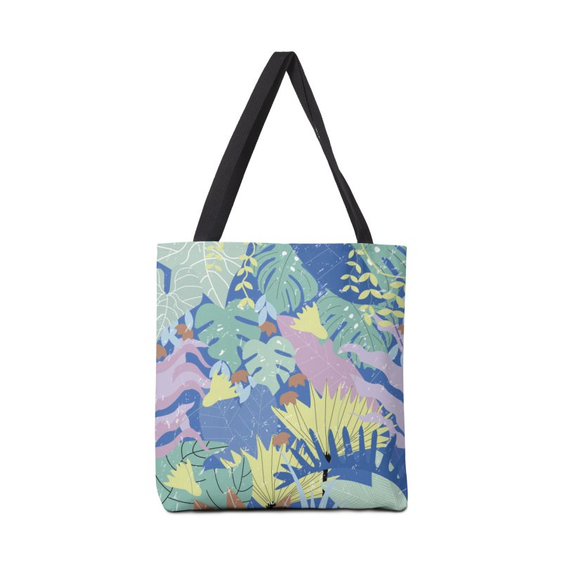 Jungle II Accessories Tote Bag Bag by ivvch's Artist Shop