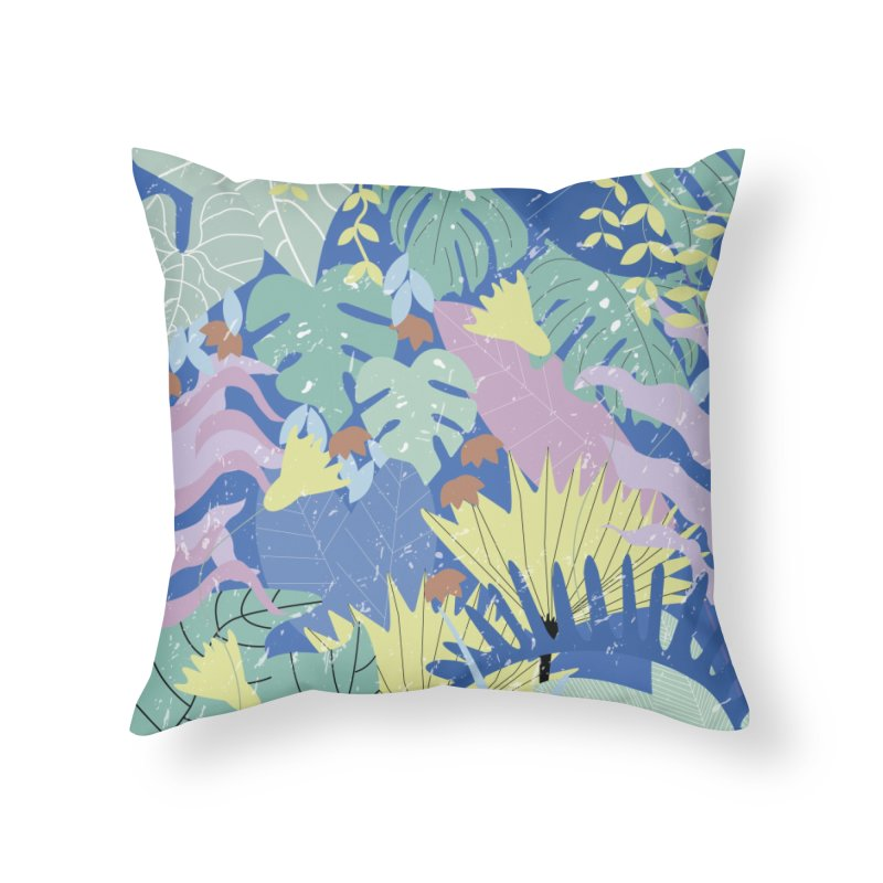 Jungle II Home Throw Pillow by ivvch's Artist Shop