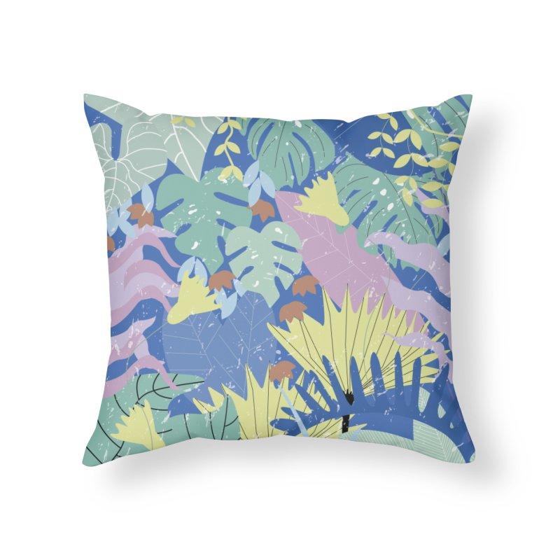 Jungle II Home Throw Pillow by ivvch's Artist Shop