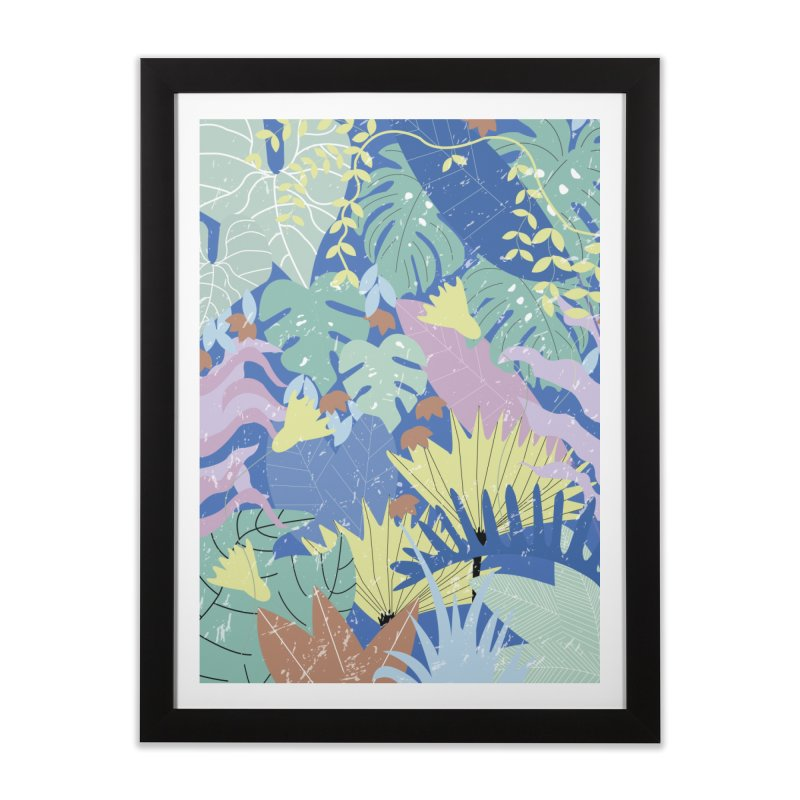 Jungle II Home Framed Fine Art Print by ivvch's Artist Shop