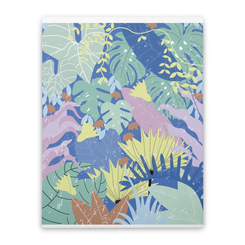 Jungle II Home Stretched Canvas by ivvch's Artist Shop