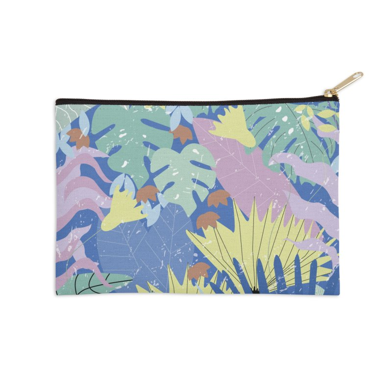 Jungle II Accessories Zip Pouch by ivvch's Artist Shop