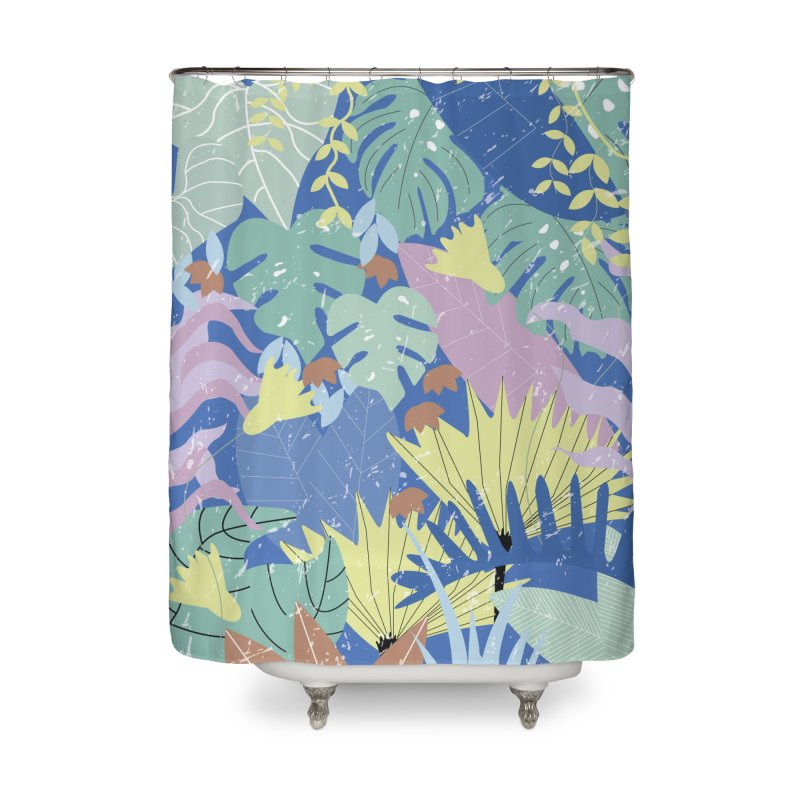 Jungle II Home Shower Curtain by ivvch's Artist Shop