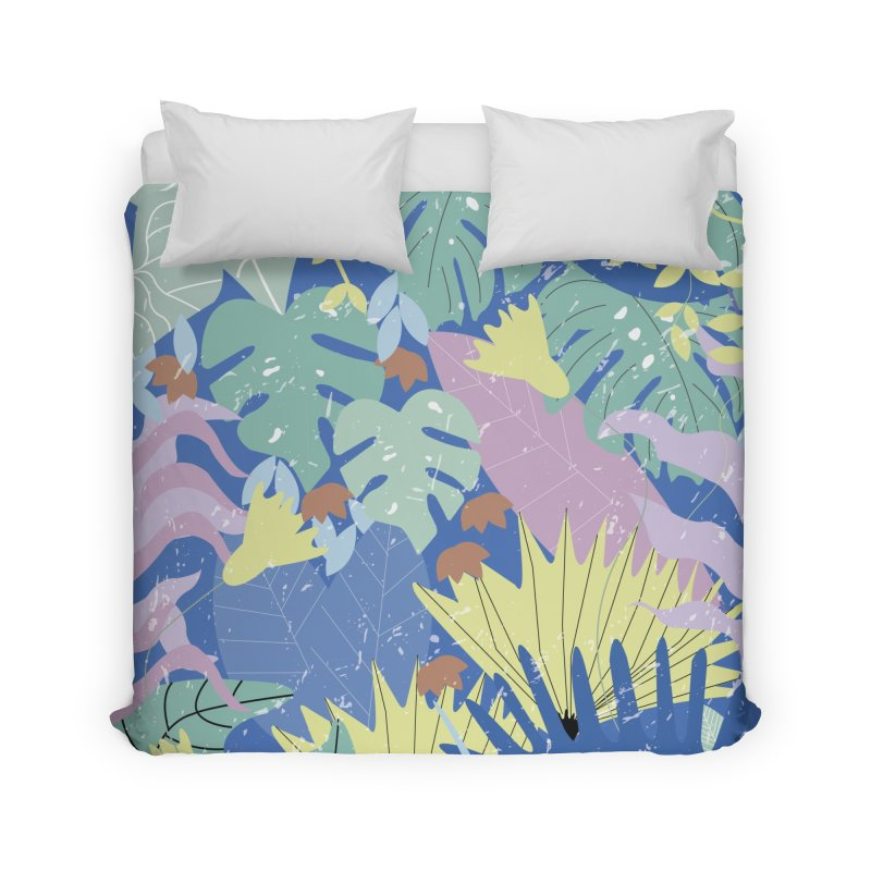 Jungle II Home Duvet by ivvch's Artist Shop