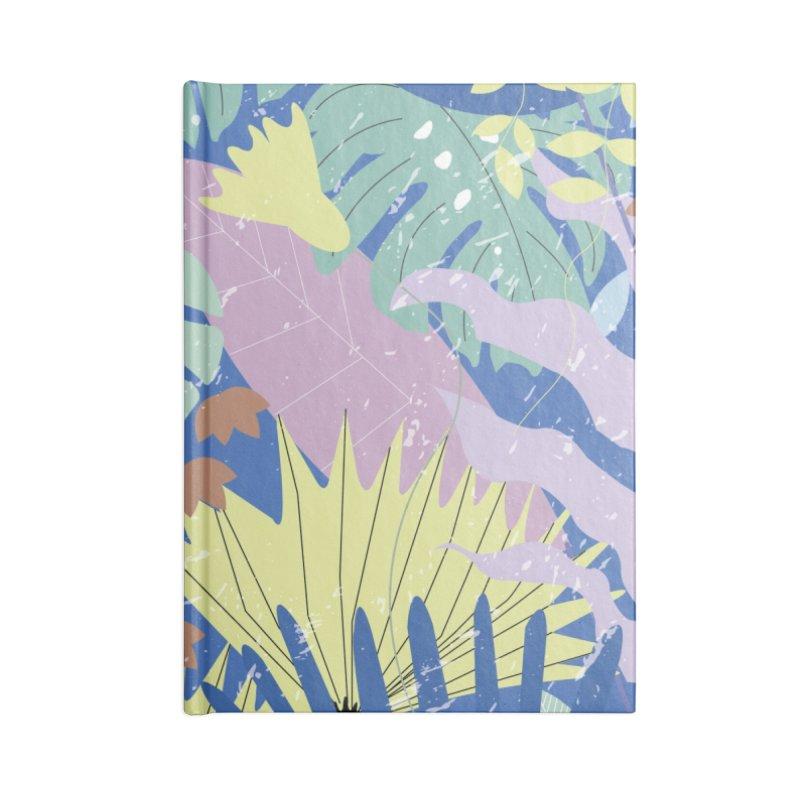 Jungle II Accessories Blank Journal Notebook by ivvch's Artist Shop