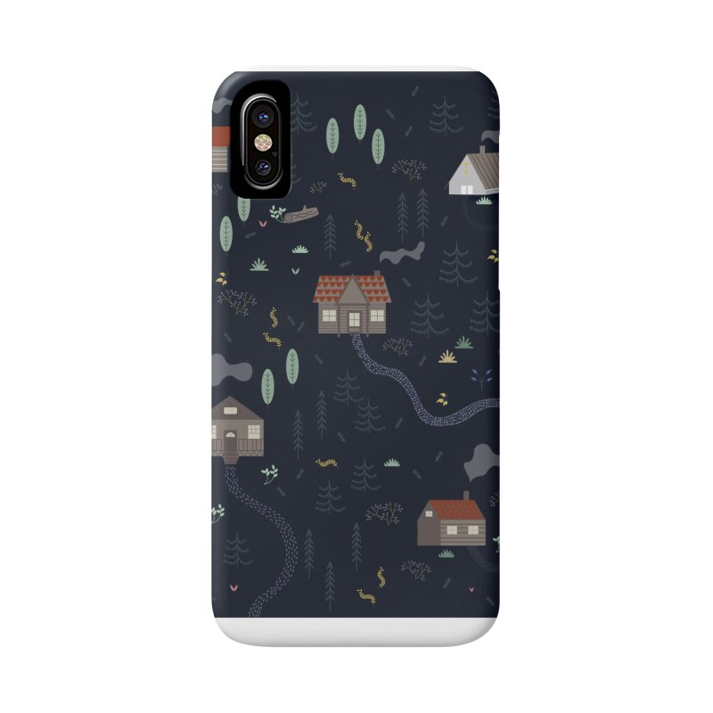 Mountain SUmmer NIght Accessories Phone Case by ivvch's Artist Shop