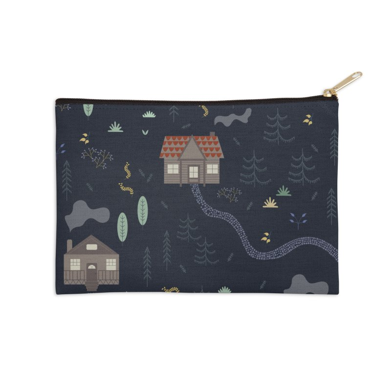 Mountain SUmmer NIght Accessories Zip Pouch by ivvch's Artist Shop