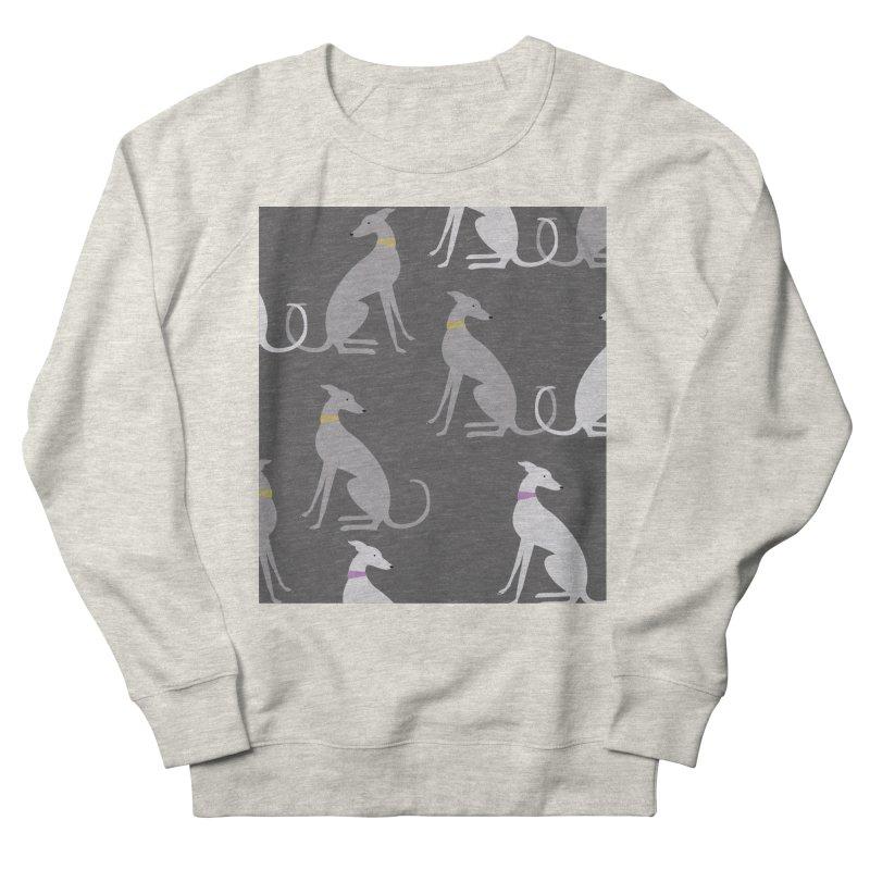 Whippet Pattern Women's Sweatshirt by ivvch's Artist Shop