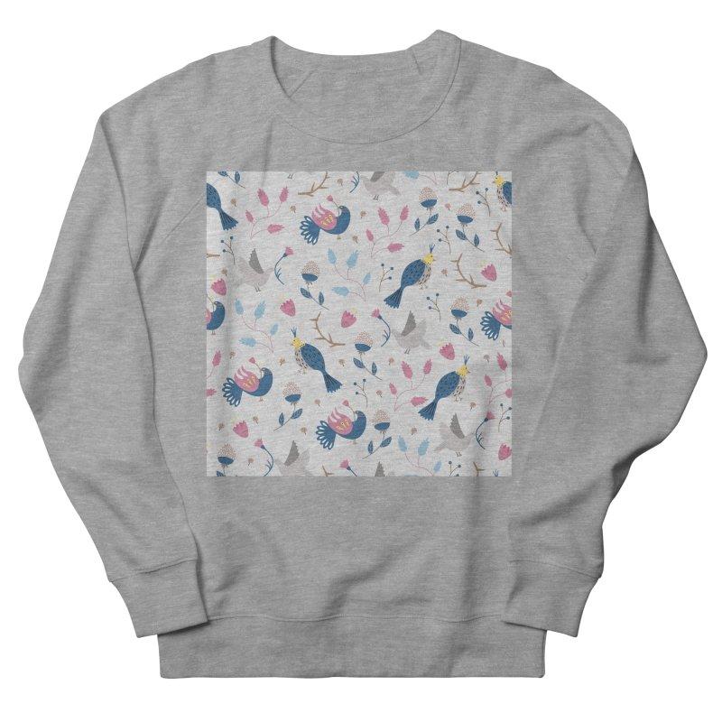 Birds Pattern Women's Sweatshirt by ivvch's Artist Shop
