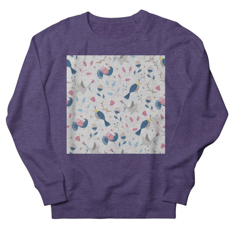 Birds Pattern Men's Sweatshirt by ivvch's Artist Shop