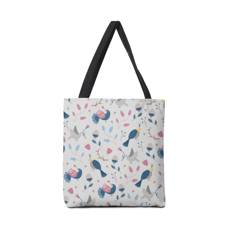 Birds Pattern Accessories Tote Bag Bag by ivvch's Artist Shop